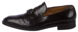 Gucci Leather Tassel Loafers