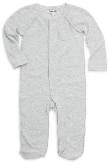 Splendid Baby Girl's Ribbed Coverall Sleeper