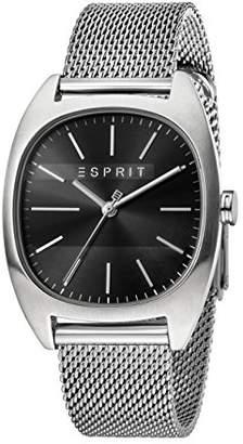 Esprit Mens Analogue Quartz Watch with Stainless Steel Strap ES1G038M0075