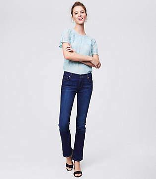 LOFT Tall Modern Bootcut Jeans in Dark Indigo Wash