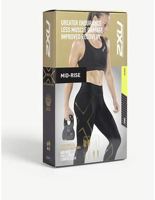 2XU Mid-rise full length compression tights