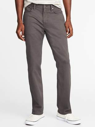 Old Navy Straight Built-In Tough All-Temp Five-Pocket Pants for Men