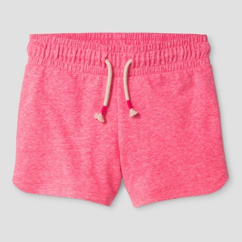 Cat & Jack Girls' Knit Pull On Shorts