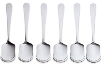 Stainless Steel Ice Cream Spoons, Set of 6