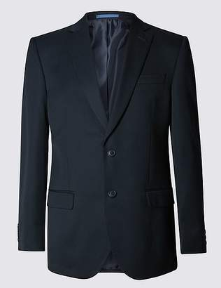 Marks and Spencer Navy Regular Fit Jacket