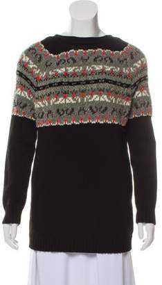 Rag & Bone Open-Back Scoop Neck Sweater