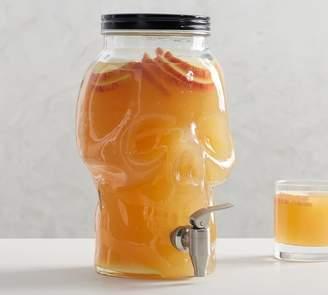 Pottery Barn Skull Drink Dispenser