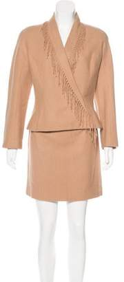 Thierry Mugler Vintage Wool-Blend Suit