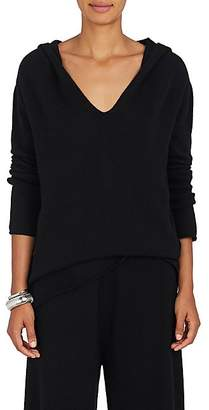 Barneys New York Women's Cashmere Hooded Sweater - Black