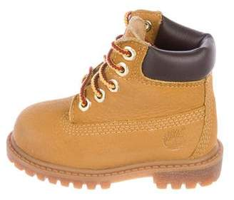 Timberland Kids' Suede Ankle Boots