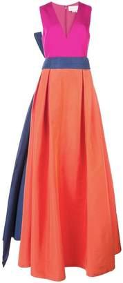 Sachin + Babi colour-block gown