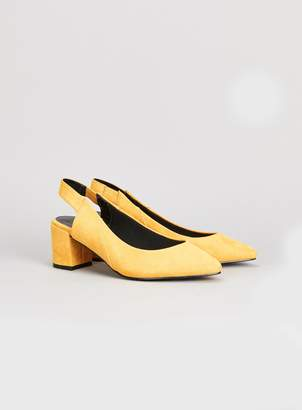 Shopstyle Uk Block Yellow Heel Shoes f7Y6gyb