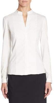 Akris Punto Elements Poplin Blouse
