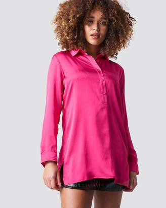 NA-KD Neon Tunic Shirt