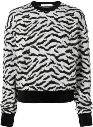 Givenchy Zebra Print Sweater