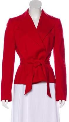 Dolce & Gabbana Virgin Wool Notch-Lapel Blazer