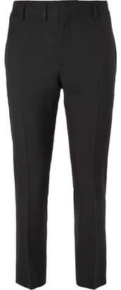 Saint Laurent Slim-Fit Virgin Wool-Gabardine Trousers