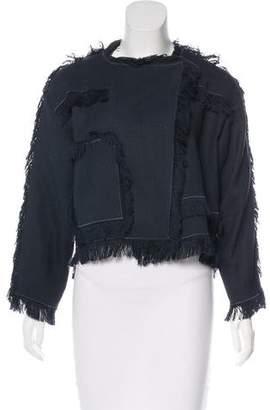 Chloé Fringe Casual Jacket