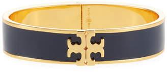 Tory Burch Enamel Logo Bangle Bracelet