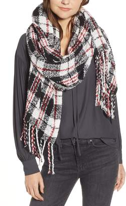 Free People Emerson Plaid Scarf