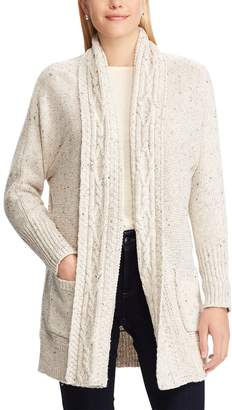 Chaps Women's Cotton-Blend Shawl Cardigan