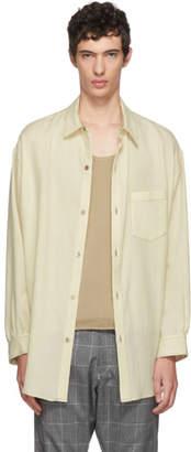 Sulvam White Wool Shirt