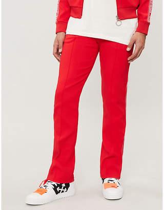 Off-White Side-stripe jersey jogging bottoms