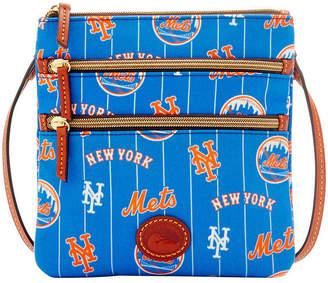 Dooney & Bourke New York Mets Nylon Triple Zip Crossbody