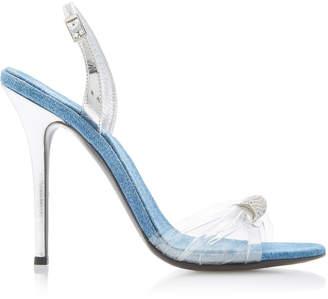 Giuseppe Zanotti Drax Jewel-Embellished PVC Sandals