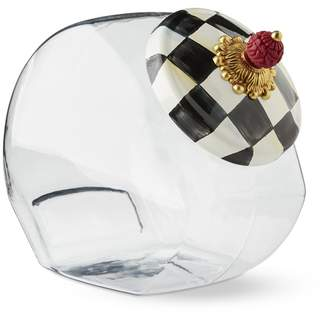 Williams-Sonoma MacKenzie-Childs Courtly Check Cookie Jar