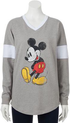 Disney's Mickey Mouse Juniors' Classic Graphic Sweatshirt $36 thestylecure.com