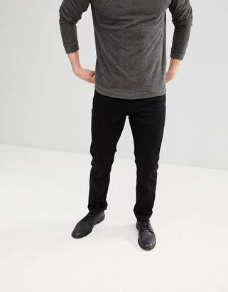 AllSaints Slim Fit Jeans With Stretch In Black