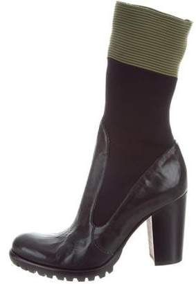 Rocco P. Knit Mid-Calf Boots w/ Tags