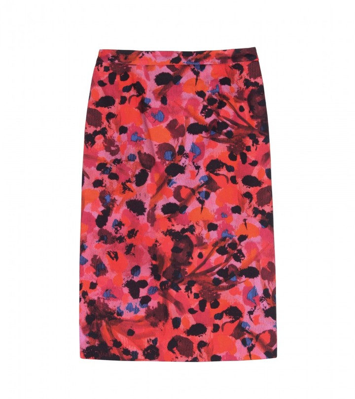 Erdem RUTH PRINTED PENCIL SKIRT