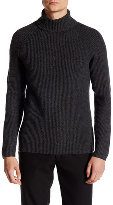 Vince Camuto Ribbed Mock Neck Sweater $135 thestylecure.com