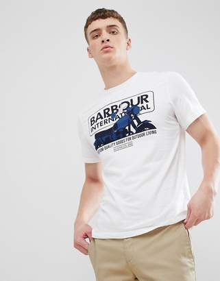 Barbour International Hydron T-shirt in White