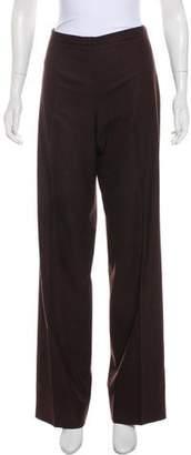 Agnona Virgin Wool High-Rise Pants
