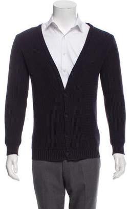 Robert Geller Knit Lined Cardigan