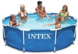 Intex Metal Frame Paddling Pool Set - 10 x 30