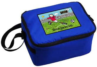 Bang On The Door Sassy Bloom As seen on TV Personalised Football Crazy Lunch Bag