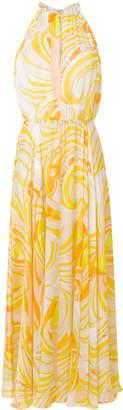 Emilio Pucci printed halterneck maxi dress