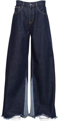 Calvin Klein Jeans Extreme Wide Leg Dark Wash Denim Jeans