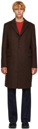 Acne Studios Brown Wool Gavin Coat