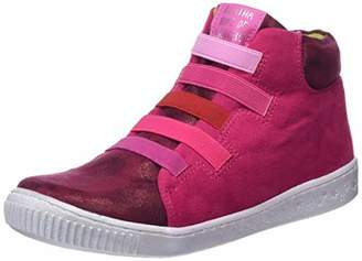 Agatha Ruiz De La Prada Girls' 181945 Ankle Boots, Pink Fucsia (Ultrasuede), 9UK Child