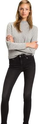Tommy Hilfiger Textured Dot Mockneck Sweater