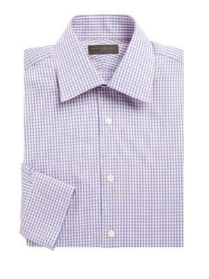 Ike Behar Cotton Check Shirt