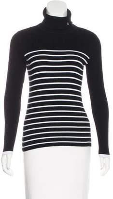 Lauren Ralph Lauren Striped Turtleneck Sweater