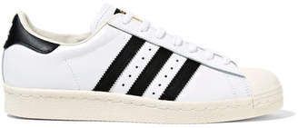 adidas Superstar Leather Sneakers - White