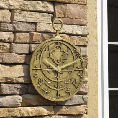 Astrolabe Outdoor Clock