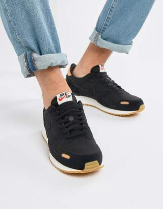 Nike Vortex Leather Sneakers In Black 918206-004